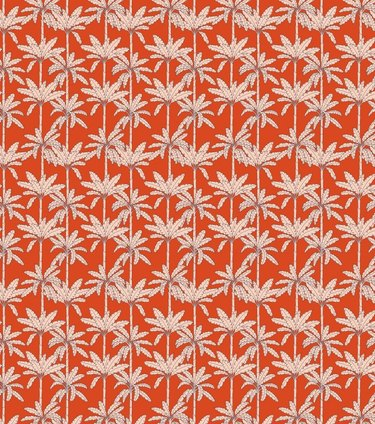 Red Palm Tree Wallpaper