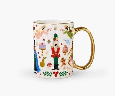 Rifle Paper Co. Holiday Porcelain Mug