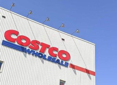 costco wholesale store sign