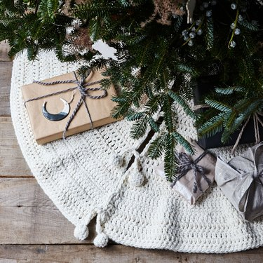 best holiday tree skirts