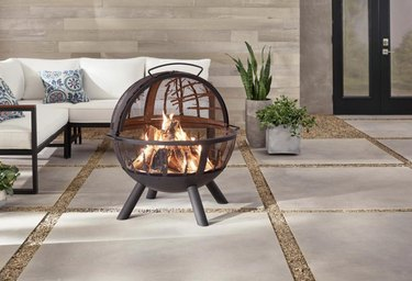 Hampton Fire Ball with Tree Branches, $169