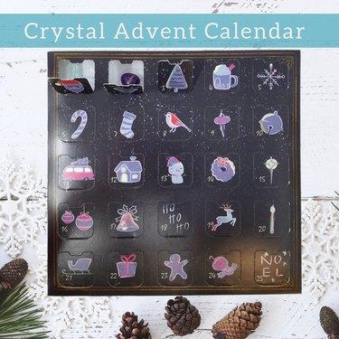 Gem Snow Crystal Advent Calendar