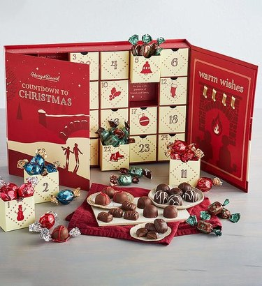 Harry & David Deluxe Chocolate Advent Calendar