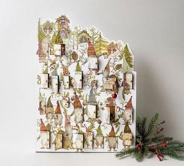 Pottery Barn Lit Gnome Advent Calendar