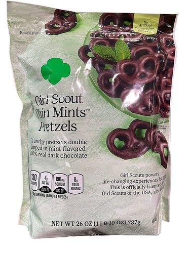 Girl Scout Thin Mints Pretzels