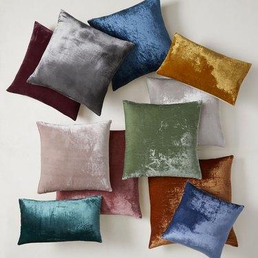 West Elm Lush Velvet Pillow Covers