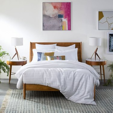 West Elm Midcentury Bed