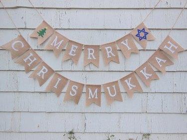 Merry Chrismukkah Banner
