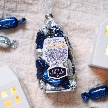 Hanukkah chocolates