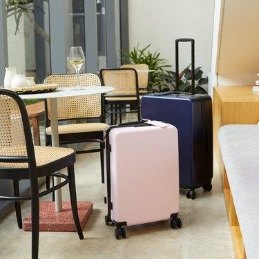 italic carry-on luggage