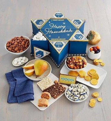 Hanukkah food box