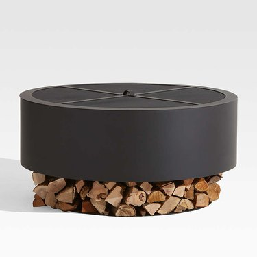 circular firepit