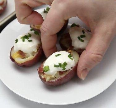 Homemade Interest Irish Potato Bites