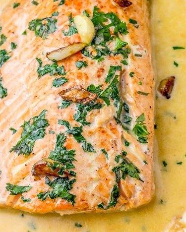 Sweet C's One-Pot Irish Whiskey Glazed Salmon