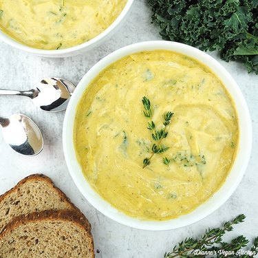 Dianne's Vegan Kitchen Vegan Colcannon Soup