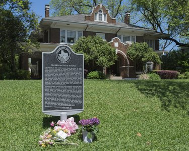 Virginia Savage McAlester's family home