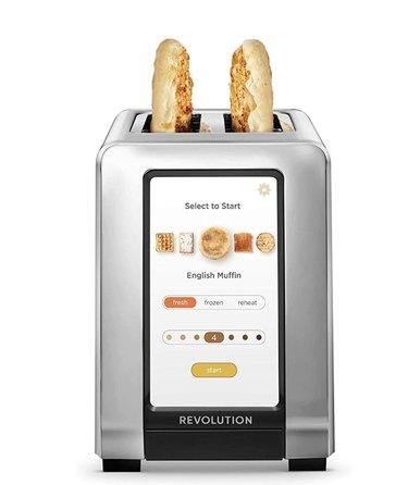 touchscreen digital toaster