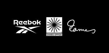 reebok and eames office logos
