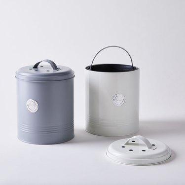 Typhoon Homewares Classic Countertop Compost Bin