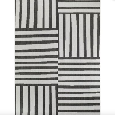 Project 62 Mod Directional Lines Outdoor Rug, $140