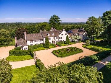 farmhouse style mansion