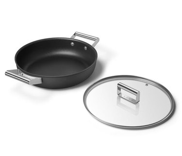 matte black saucepan from SMEG