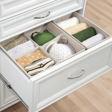 Fabric Drawer Storage Set of 5