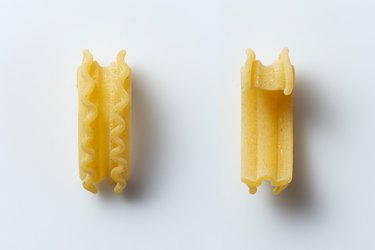 new cascatelli pasta shape