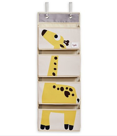 Giraffe Hanging Wall Organizer