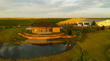 view of farm in nebrasks