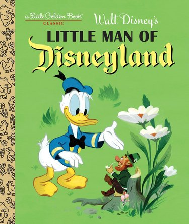 little man of disneyland book cover