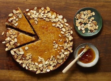 Pati Jinich Flourless Almond and Porto Cake