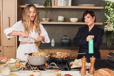 kris jenner and chrissy teigen safely cleaning products