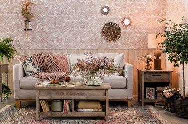 living room scene