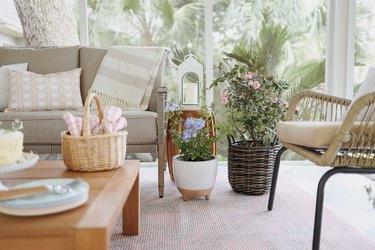 cottagecore patio