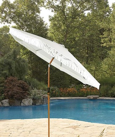Bee & Willow Home Fringe Market Umbrella
