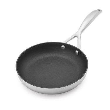 Scanpan silver and dark gray skillet