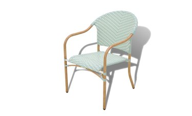 Bee & Willow Home Nantucket Wicker Stacking Chair