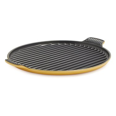 Le Creuset yellow grill