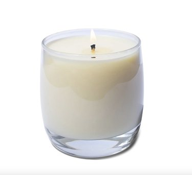 Package Free x Sanari Scented Candle with Reusable Wine Glass