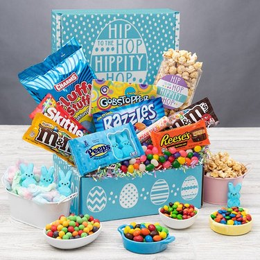 candy in Easter gift box