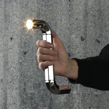 zig-zag flashlight