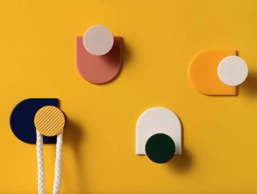 Shein Color Block Wall Hook Set (4 pieces), $3
