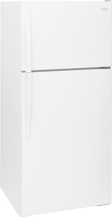 Whirlpool Top-Freezer Refrigerator in white
