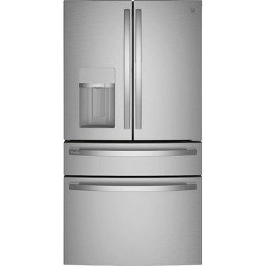 GE Profile Smart 4-Door French Door Refrigerator with Door in Door in Fingerprint Resistant Stainless Steel