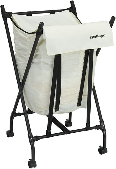 Household Essentials Lifter Hamper Spring Loaded Laundry Bag
