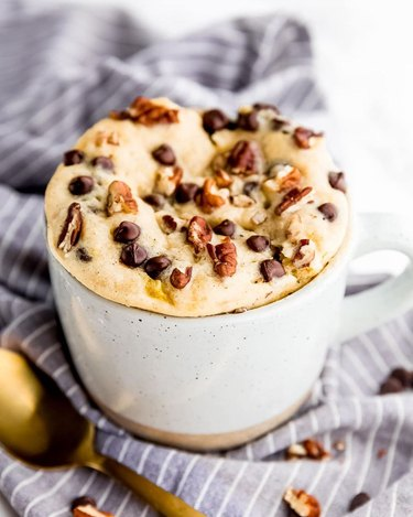 Jessica in the Kitchen Vegan Banana Bread Mug Cake