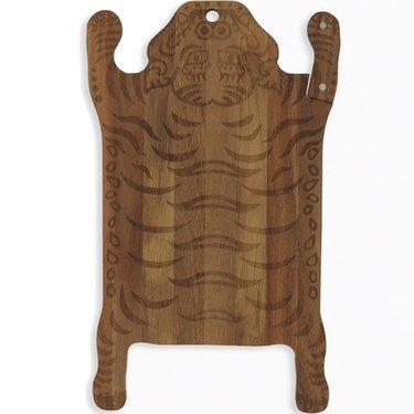 tiger wood cutting board