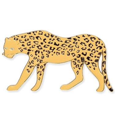 yellow cheetah bottle opener