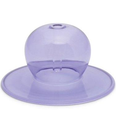 lavender globe incense holder